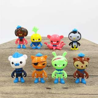Octonauts toy figurine for cake display topper