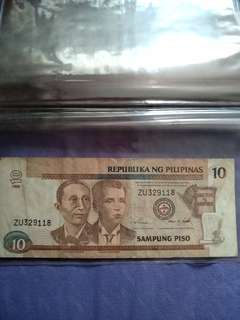 Old bank note - Philippines
