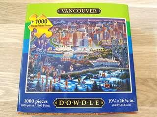 Puzzles 1000pcs 砌圖 Vancouver