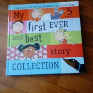 Charlie n Lola collection storybook