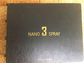 Nano spray 3 like new