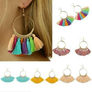 Bohemian Summer Tassel Earrings - Brand New
