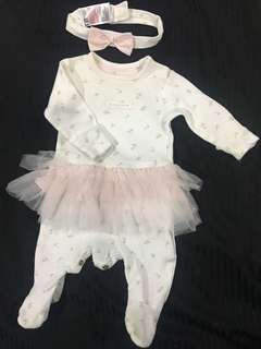 Mothercare All-in-one tutu with Headband