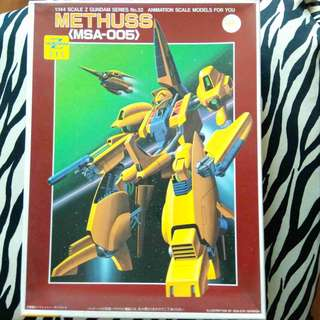 請看推廣優惠 BANDAI 1/144 密達斯 可變戰機 Methuss MSA 00 5 Z Zeta 高達模型 Gundam