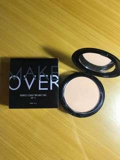 Makeover perfect cover two waycake shade desert-04(beli 150rb,baru pake 2x,salah warna)(tanpa sponge)