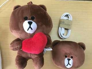 Teddy Bear Line Powerbank Line
