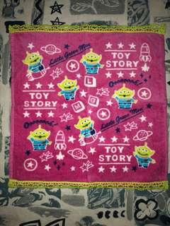 三眼仔 毛巾 手巾 toy story towel