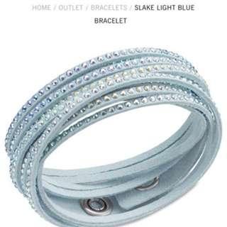 Swarovski Slake light blue bracelet