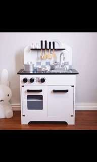 (PO) BN Nordic Design Black & White Kitchen Toy Play Set