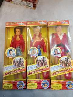 Antiques toys 1997 Baywatch dolls