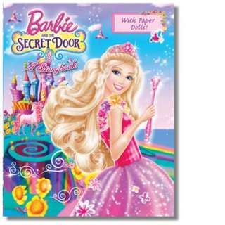 Pelican Barbie And The Secret Door: A Storybook with Paper Dolls