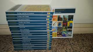 TIME LIFE illustrated encyclopedia of science and nature (COMPLETE SET) + Bonus (Timelife world/body Atlas)