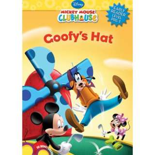 Goofy's Hat Book (Disney Early Readers Level Pre-1)