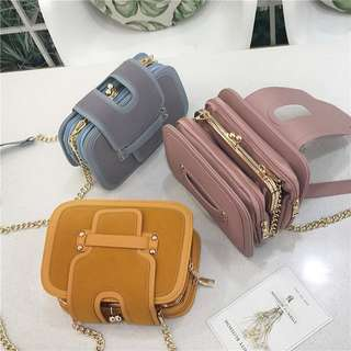 [PO] Ladies Chain Cross Body Small Purse Bag