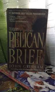 """The Pelican Brief"" by John Grisham"