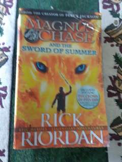 Magnus Chase Sword of summer pre loved