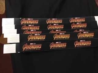 Avengers Infinity War BLACK PASS TICKET