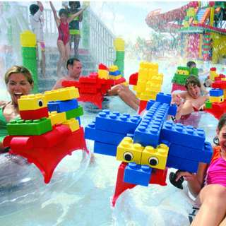 COMBO: LEGOLAND Theme Park + Water Park - 1 Day