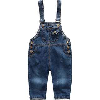 Blue Denim Jumper (Kids)
