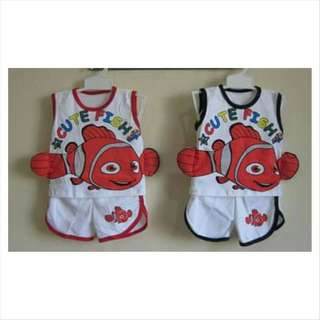 Sleeveless Nemo Set
