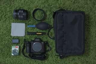 (9成新)Sony A7s ii (Body+Sony SEL1018 E 10-18mm F4)