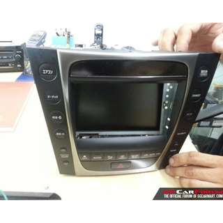 Lexus touch panel replacement