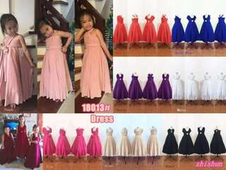 APR 18 KIDS INFINITY DRESS (DMM)