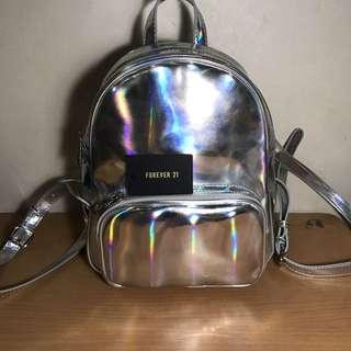 Forever 21 Hologram Backpack