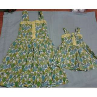 Twinning dress for ate and bunso