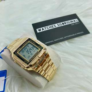 Casio Watch Gold DB360 AUTHENTIC