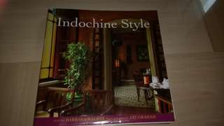Beautiful thick book with pictures on indochine homes
