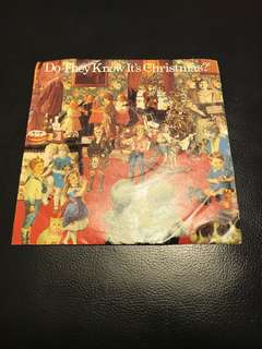 """Band Aid 7"""" Single Vinyl - Do They Know It's Christmas?"""