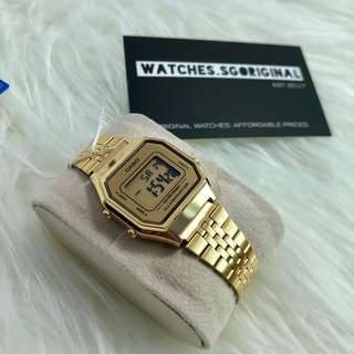 Casio Watch Gold LA680 AUTHENTIC