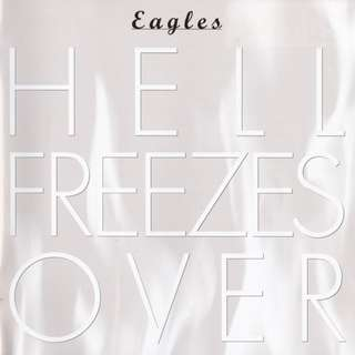 Eagles Hell Freezes Over with slipcase cd