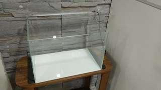 Crystal glass fish tank aquarium led light