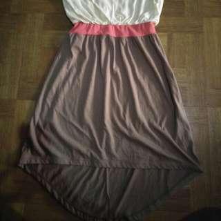 Dress Yellowish Pink brown