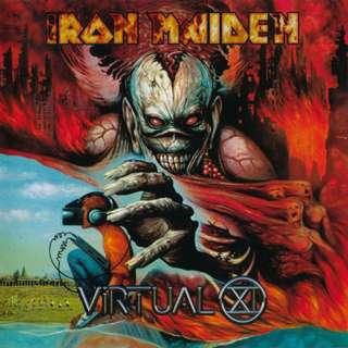 Iron Maiden Virtual XI cd