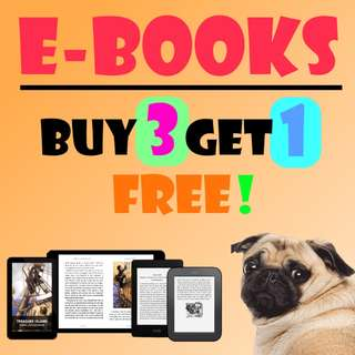 EBOOKS: BUY 3 GET 1 FREE FOR PC, KINDLE & SMARTPHONES