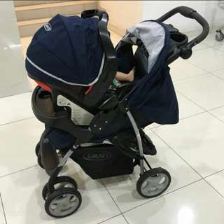 GRACO STROLLER & BABY CARRIER