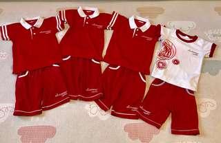 Mindchamps School Uniform and PE Attire (Size S)