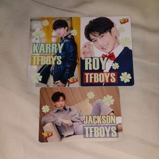 《Yes》32nd yescard - TFBOYS 夜光