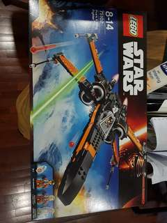 Lego Star Wars Poes xwing 75102