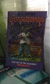 """""""Goosebumps: Stay Out of the Basement"""" by R.L. Stine"""