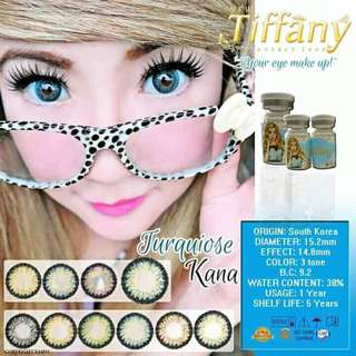 Contact Lens good for 1 yr use made in Korea