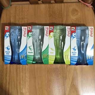 麥當勞可口可樂玻璃杯(2010 FIFA世界盃版)