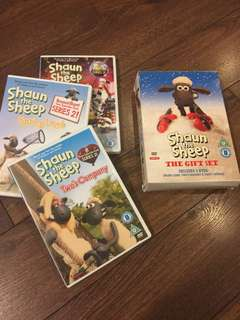 Shaun the Sheep - spring Lamb, Two's Company & Party Animal (3 DVDs)