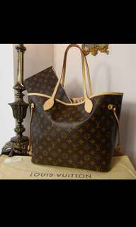 LOUIS VUITTON USED ONCE