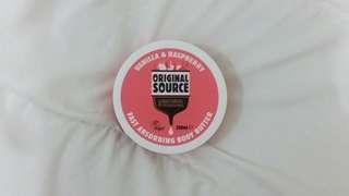 Original Source Fast Absorbing Body Butter Vanilla & Raspberry
