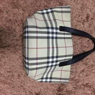 Original Burberry hand bag