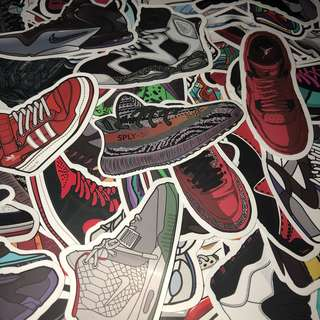 Sticker WaterProof High Quality - Sneaker Shoes Stickers Decals